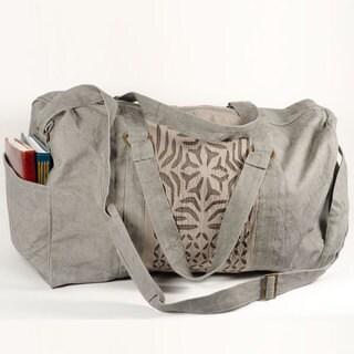 Handmade Kaila Applique Duffel Bag (Pakistan)