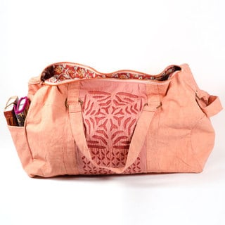 Kaila Appliqué Duffel Bag (India)