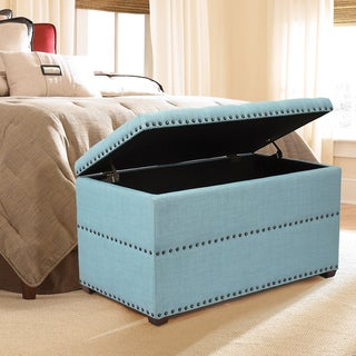 Link to Adeco Stylish Button Tufted Lift Top Storage Bench Similar Items in Living Room Furniture