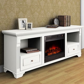 Aleixo Electric Fireplace with Remote