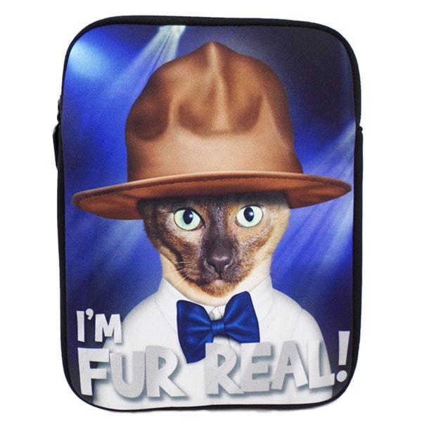 Pets Rock 'Furreal' Cat iPad Mini Tablet Sleeve