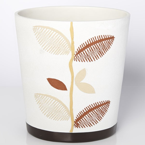 Hand-crafted Ivory Leaf Bath Accessory Collection