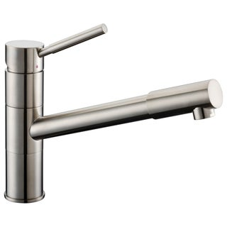 Dawn Brushed Nickel Single-lever Pull-out Kitchen Faucet