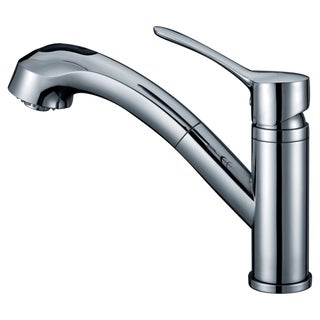 Dawn Chrome Single-lever Pull-out Spray Kitchen Faucet