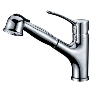 Dawn® Modern Single-lever Pull-out Spray Kitchen Faucet, Chrome