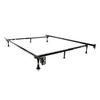 Brookside Metal Full/ Twin Heavy-duty Adjustable Bed Frame with Glides