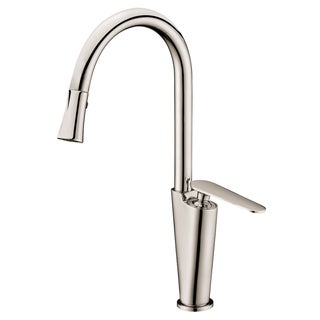 Dawn Brushed Nickel Single-lever Kitchen Faucet