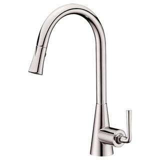 Dawn® Single-lever Pull-down Spray Sink Mixer, Brushed Nickel