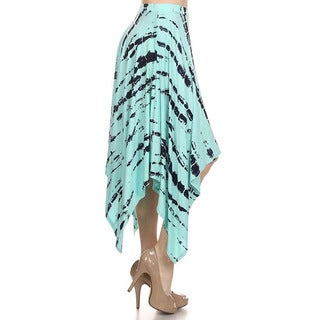 MOA Collection Women's Tie-Dye Skirt