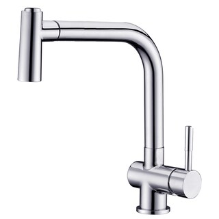 Dawn Chrome Single-lever Pull-out Spray Sink Mixer