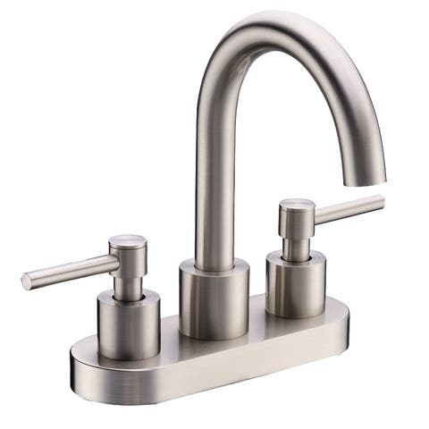 Cadell Brass Center-set Bathroom Faucet