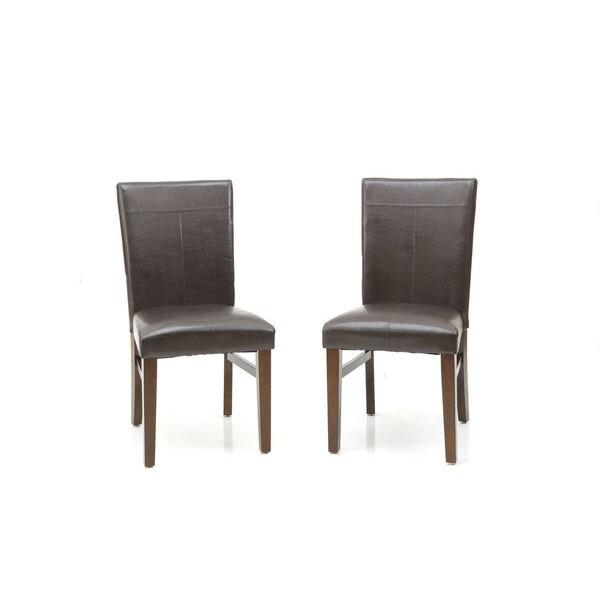 Shop Kona Raisin Parson Dining Chair Set Of 2 On Sale