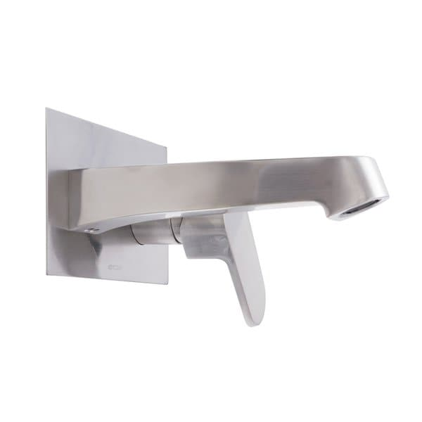 faucet signature series single handle modern wall mount bath faucet