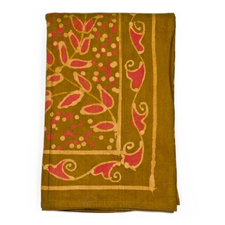 Jasmine Vine Tablecloth (India)