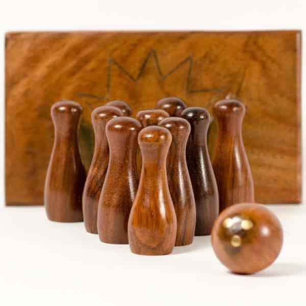 Handmade Retro Tabletop Bowling Game (India)