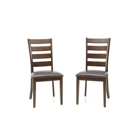 Kona Raisin Ladderback Dining Chairs (Set of 2)