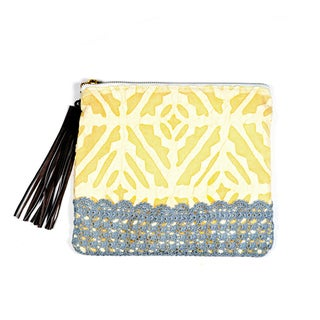 Lemon Applique Pouch (India)