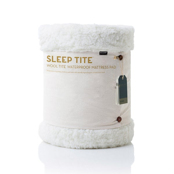 Sleep Tite Natural Wool Waterproof Mattress Pad