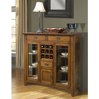 Mission Leopold Burnish Oak 54 Inch Server