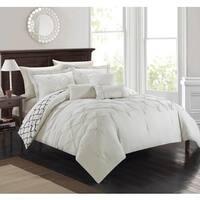 Gracewood Hollow Akenson 10-piece Edney Beige Bed in a Bag