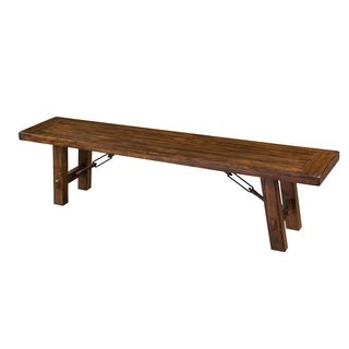 Sunny Designs Tuscany Dining Bench with Turnbuckle Accents