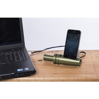 Sportsman's Desk Smartphone Dock Station-Duck Call (O.D. Green Finish)