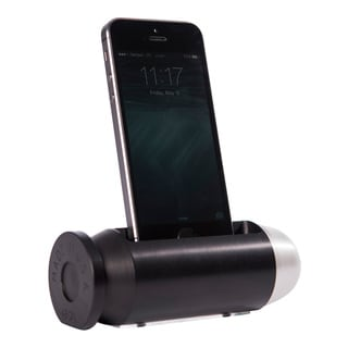 Sportsman's Desk Bullet Smartphone Cradle (Tactical and Platinum Finish)