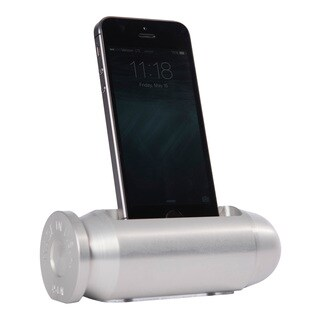 Sportsman's Desk Bullet Smartphone Cradle (Platinum Finish)
