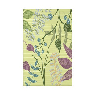 Botanical Floral Print 50 x 60-inch Throw Blanket