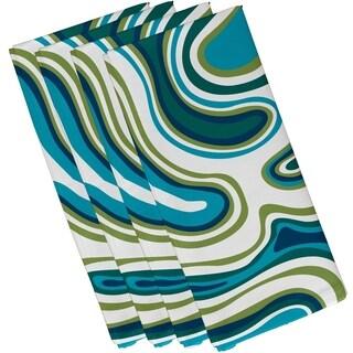 Agate Geometric Print 19-inch Napkin