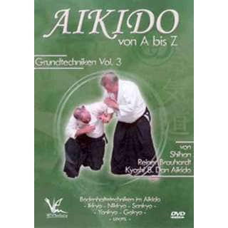 Aikido A-Z Ground hold Techniques #3 DVD Brauhardt grappling ikkyo - gokyu