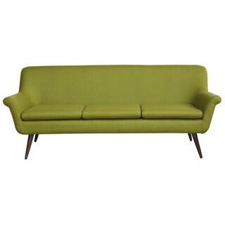 Austin Vintage Brown Leather 3 Seat Sofa Free Shipping