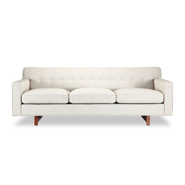 Shop Kennedy Mid-century Modern Classic Sofa, Vintage Twill ...