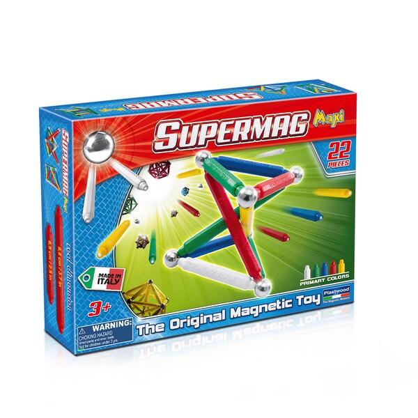 Supermag Maxi Classic 22- The Original Magnetic Toy