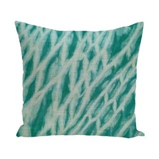 Shibori Stripe Geometric Print 18-inch Outdoor Pillow