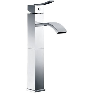 Dawn Chrome Single-lever Square Tall Lavatory Faucet