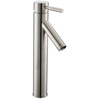 Dawn Single-Lever Tall Modern Lavatory Brushed Nickel Faucet