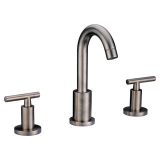 Dawn Brushed Nickel 3-hole 2-handle Widespread Lavatory Faucet