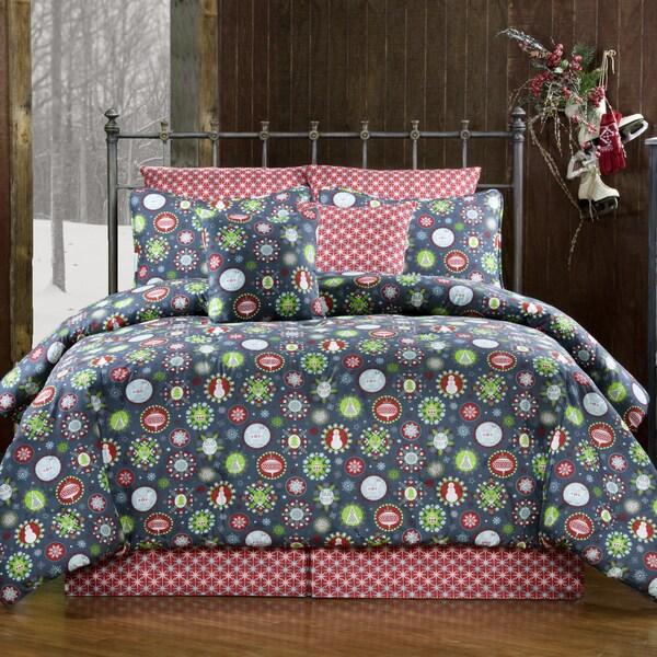 Holiday Cheer Christmas 4-piece Comforter Set