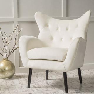 Christopher Knight Home Alyssa Velvet Arm Chair
