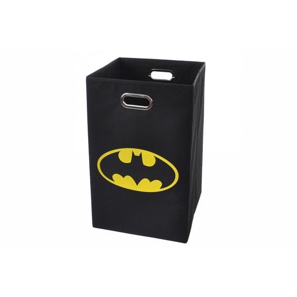Batman logo black folding laundry basket free shipping on orders over 45 - Batman laundry hamper ...