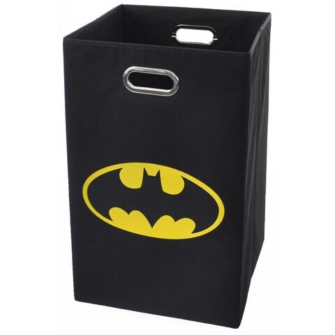 Batman Logo Black Folding Laundry Basket