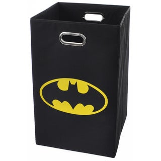 Batman Logo Black Folding Laundry Basket