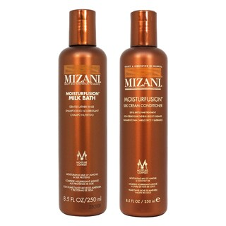 Mizani Moisturfusion Milk Bath Shampoo and Silk Cream Conditioner 8.5 oz. Duo