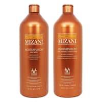 Mizani Moisturfusion Milk Bath and Silk Cream Conditioner 33.8-ounce Set (Set of 2)