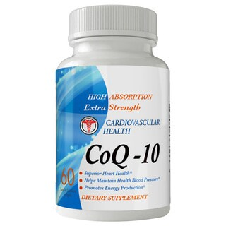 CoQ-10 High Absorption Extra Strength 120mg Protect the Heart (30 Day Supply)