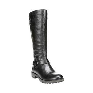 Women's Naturalizer Tanita Boot Black Oklahoma Leather