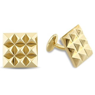 V1969 ITALIA Cufflinks in 18k Yellow Gold Plated Sterling Silver
