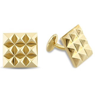 V1969 Italia Cufflinks in Yellow Gold Plated Sterling Silver