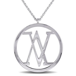 V1969 ITALIA Insignia Necklace in Sterling Silver